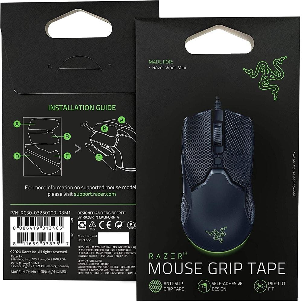 Лепенки Razer Grip Tape (RC30-03250200-R3M1), за мишка Razer Viper Mini, черни image