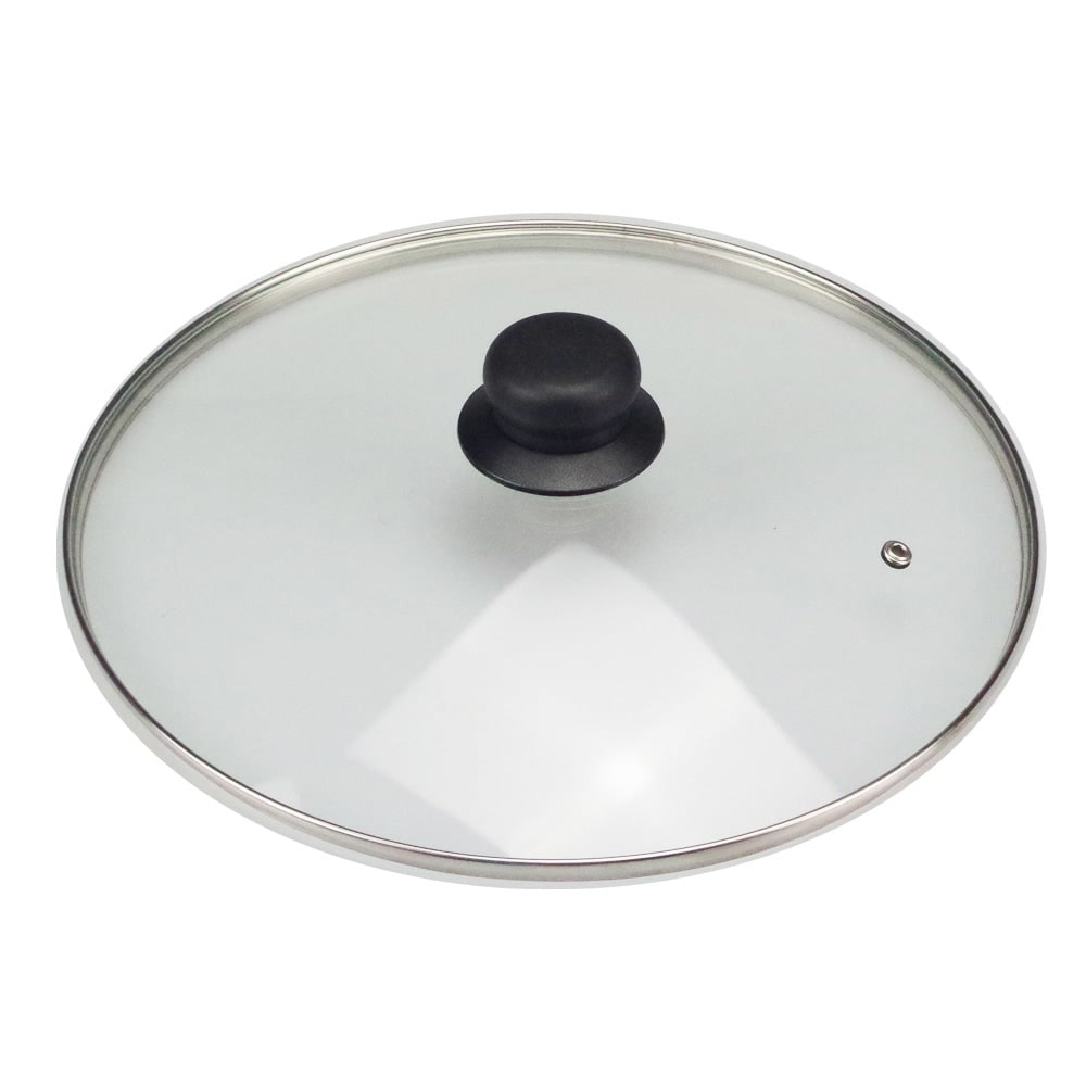 Стъклен капак Sapir SP 1200 AL24, 24 см, отвор за пара, универсален image