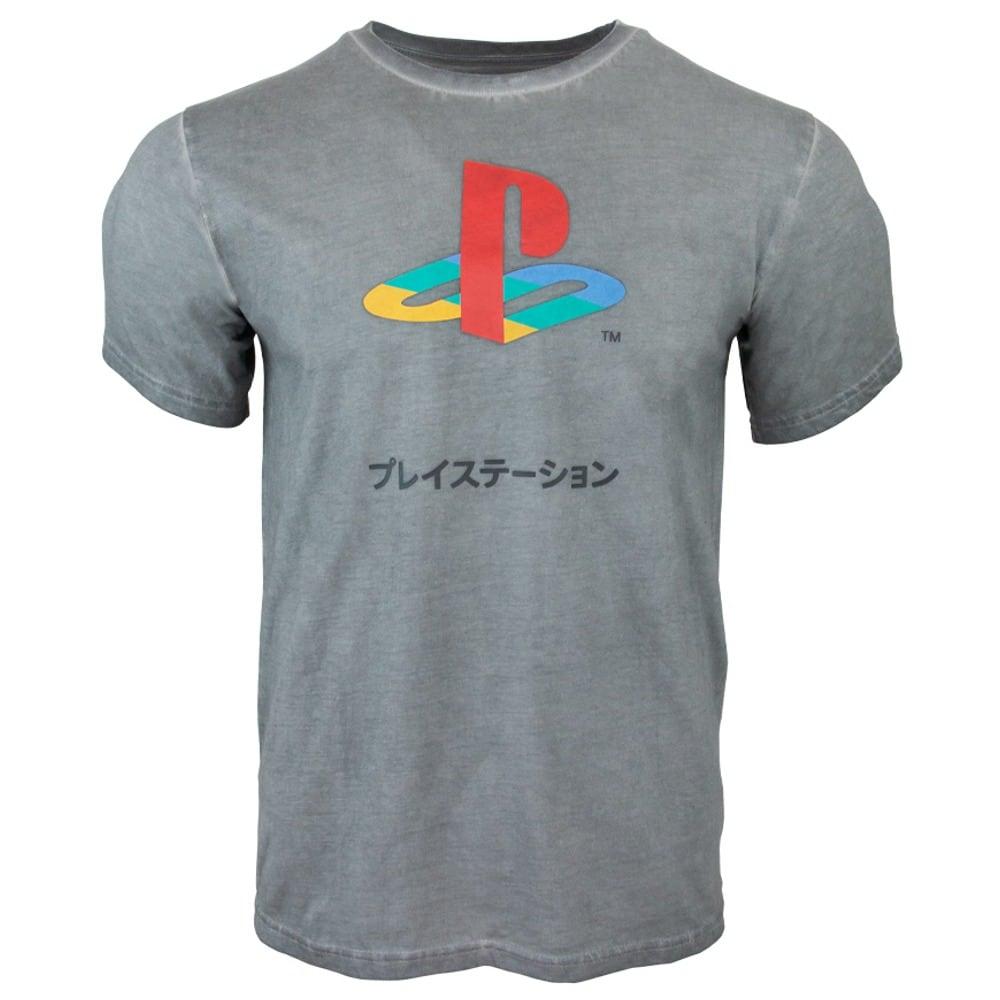 Тениска PlayStation 25th Anniversary, размер XS, сива image