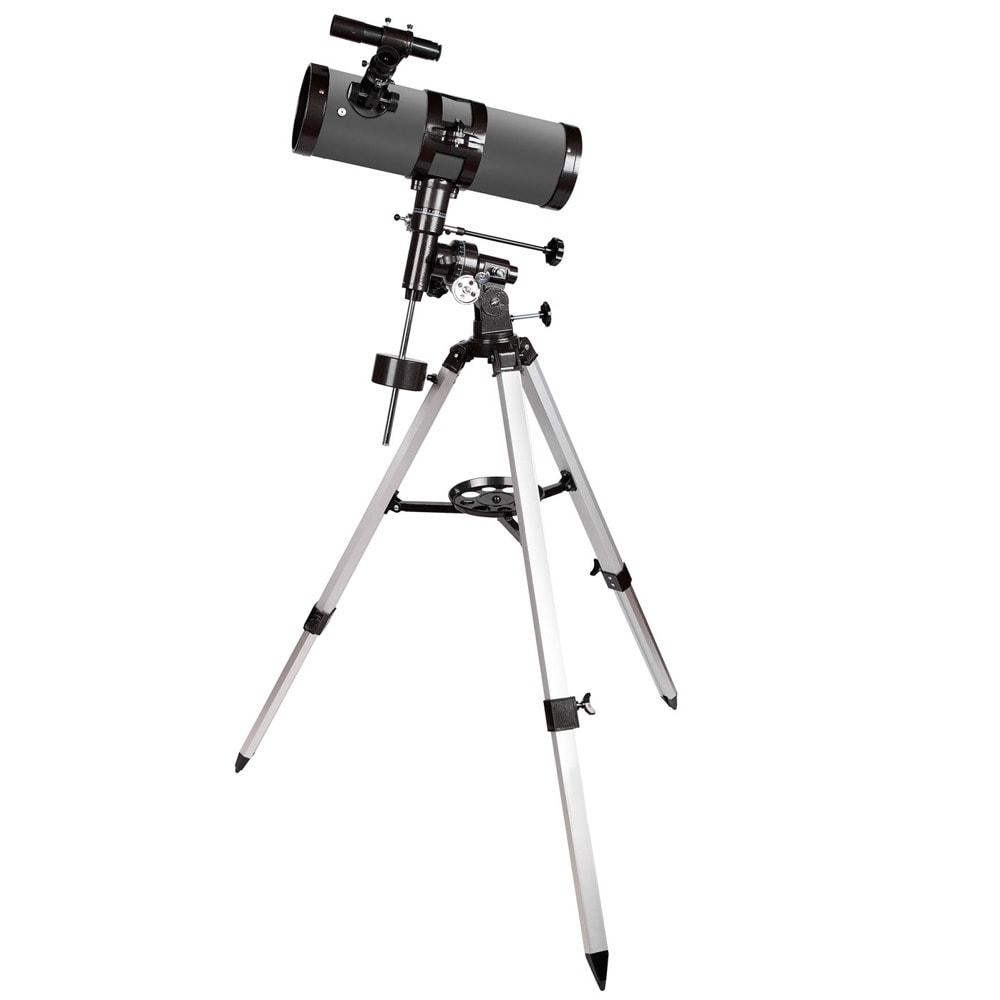Телескоп Levenhuk Blitz 114s PLUS, рефлекторен, 228x оптично увеличение, 114 mm диаметър на лещата(апертура), 500 mm фокусно разстояние image
