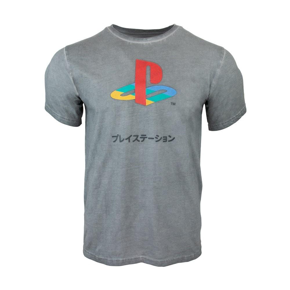 Тениска PlayStation 25th Anniversary, размер XXL, сива image