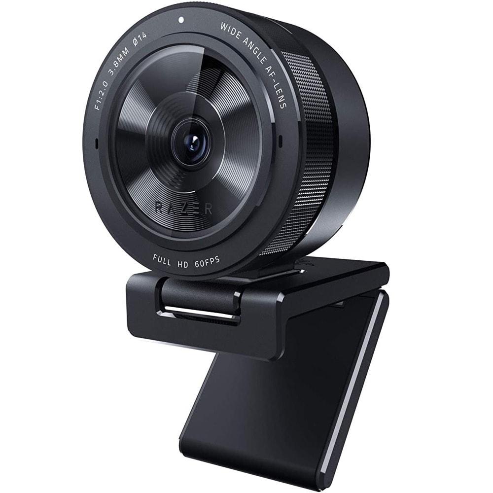 Уеб камера Razer Kiyo Pro (RZ19-03640100-R3M1), микрофон, 1920x1080/60fps, адаптивен сензор за светлина, USB 3.0, черен image