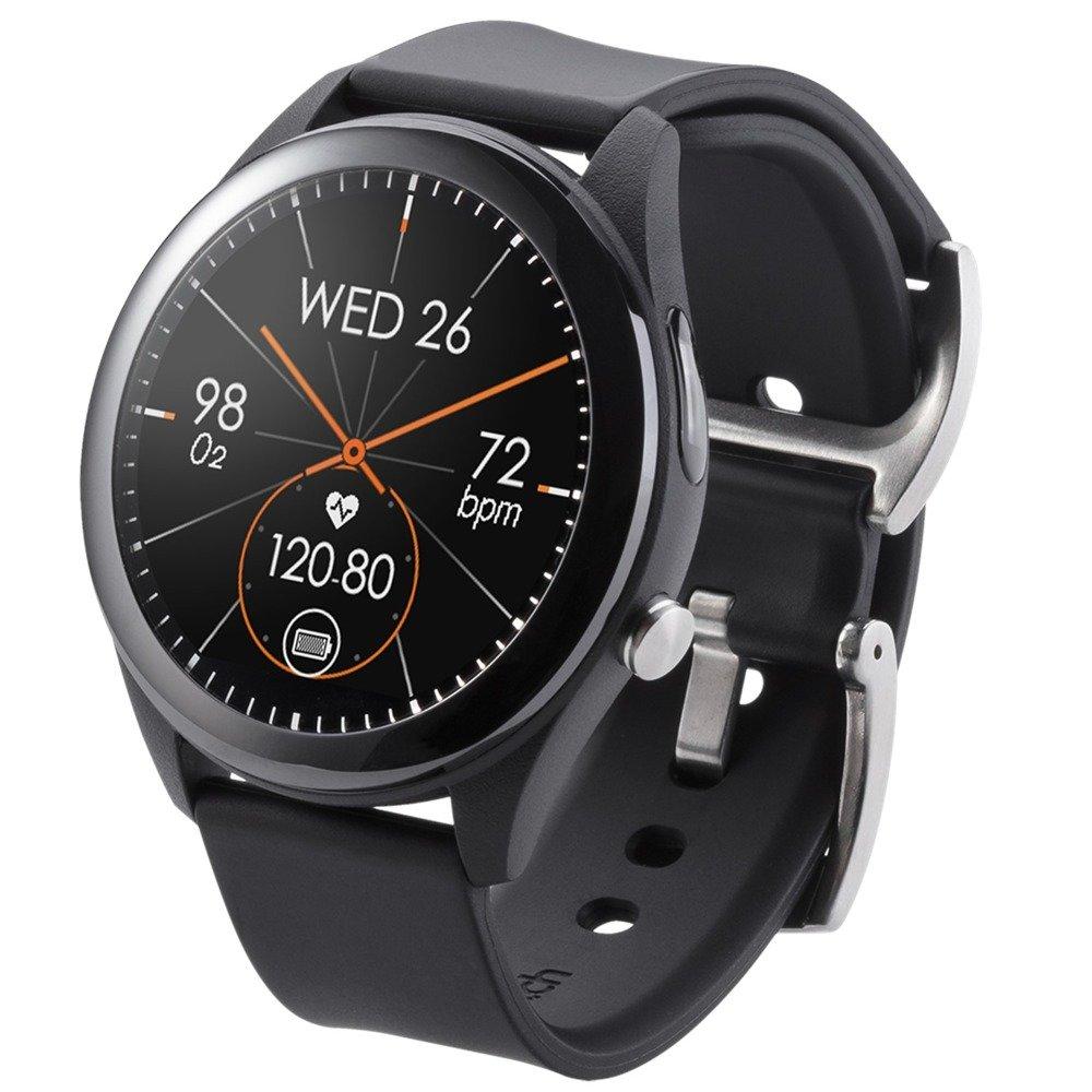 "Смарт часовник Asus VivoWatch SP HC-A05, 1.34"" (3.40 cm) LCD дисплей, до 10 дни живот на батерията, GPS, Bluetooth, черен  image"