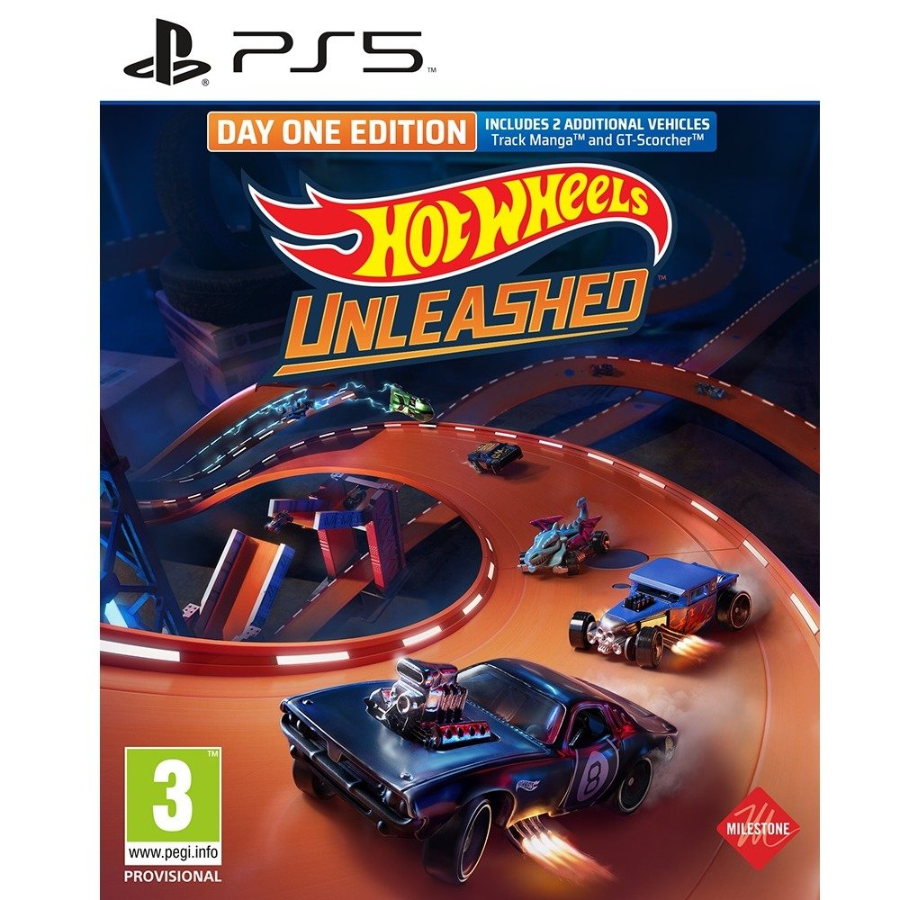 Hot Wheels Unleashed Day One Edition PS5 product