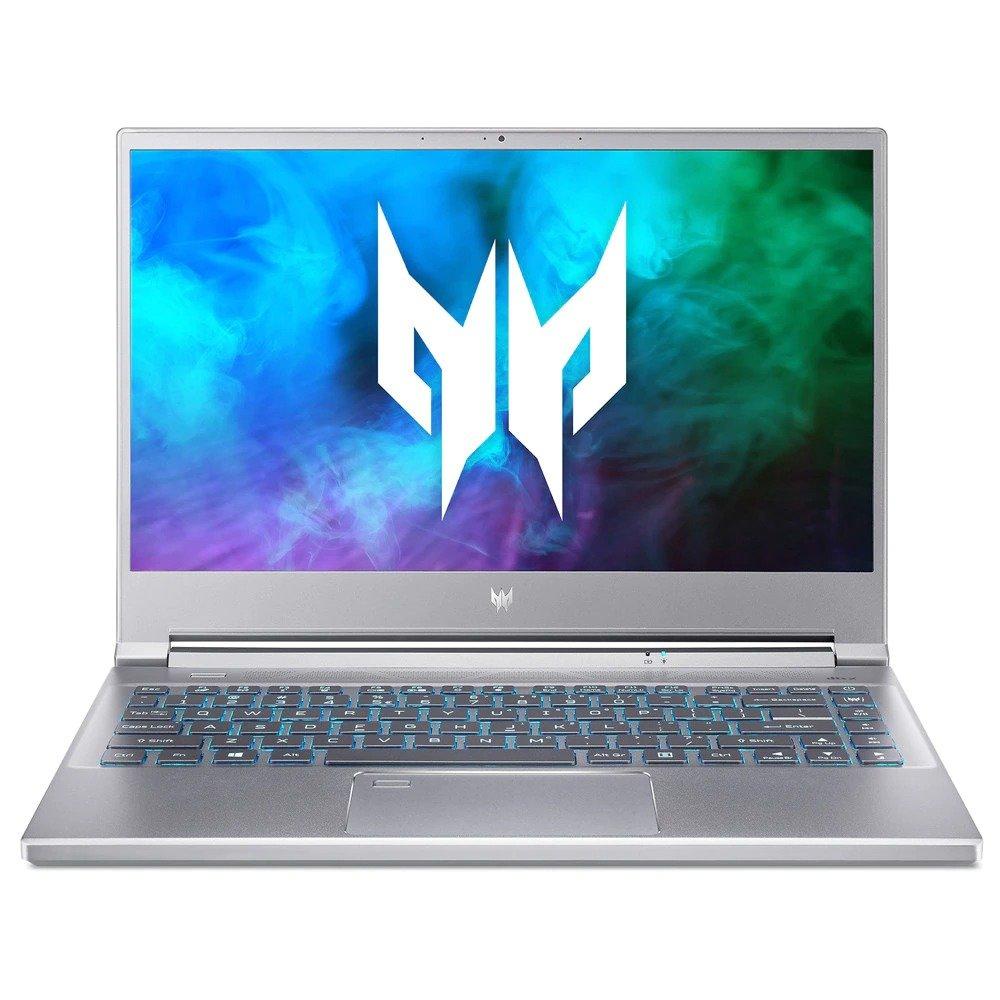 "Лаптоп Acer Predator Triton 300 SE PT314-51S-77Y7 (NH.QBJEX.00H)(сив), четириядрен Tiger Lake Intel Core i7-11370H 3.3/4.8 GHz, 14"" (35.56 cm) Full HD IPS Anti-Glare Display & GF RTX 3060 6GB, (HDMI), 16GB DDR4, 512GB SSD, Windows 10 Home image"
