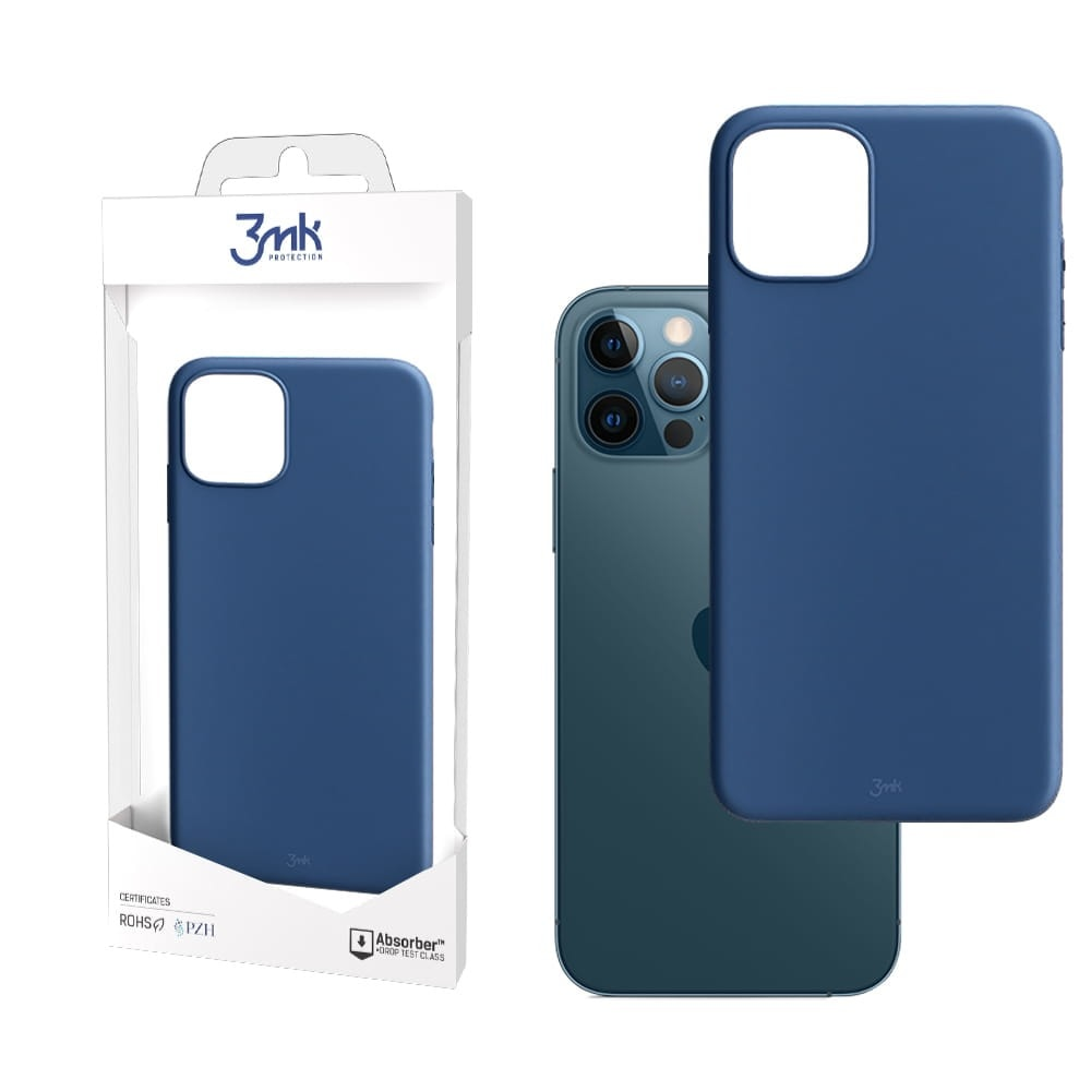 3MK Matt Case Blueberry for iPhone 12 / 12 Pro product