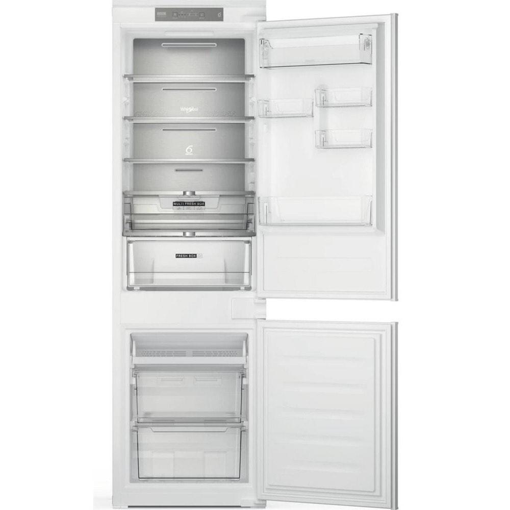 Хладилник с фризер Whirlpool WHC18 T341, клас F, 250 л. общ обем, за вграждане, 280kWh/годишно, No Frost технология, бял image