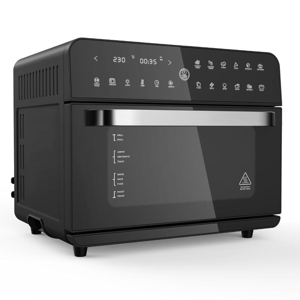 Фурна ZEPHYR ZP 1441 V Deluxe, 25 л. технология 360° Hot Air Circulation, функция за дехидратиране, черна image