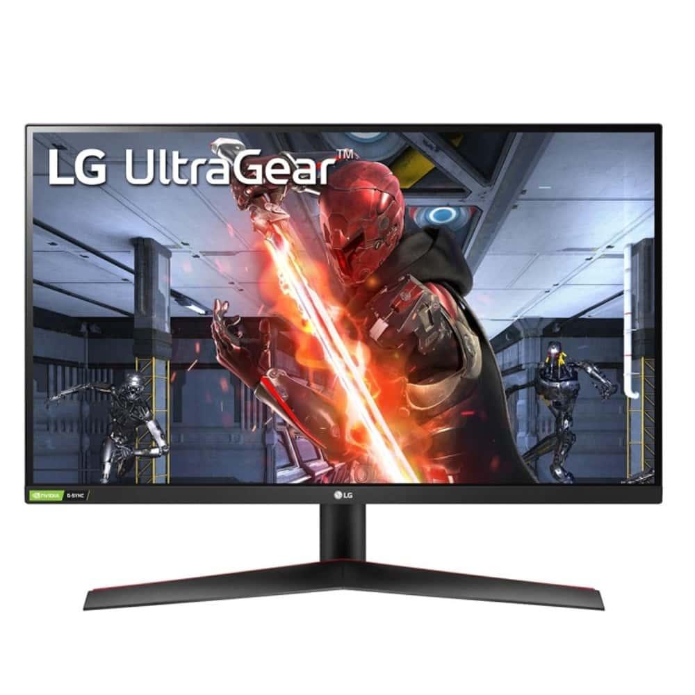"""Монитор LG UltraGear 27GN800-B с подарък разклонител Allocacoc Power Cube WiFi 9610, 27"""" (68.58 cm) IPS панел, 144Hz, HDR, QHD, 1ms, 350cd/m2, DisplayPort, HDMI image"""