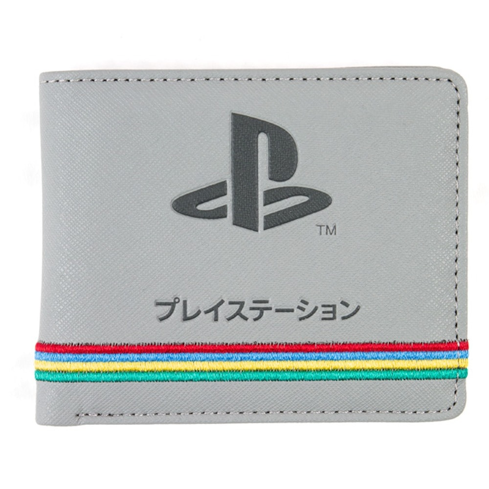 Портфейл PlayStation 25th Anniversary, еко кожа, сив image