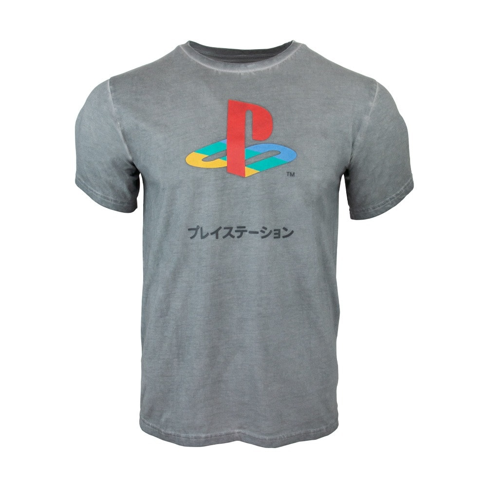 Тениска PlayStation 25th Anniversary, размер XL, сива image