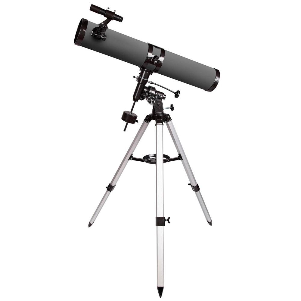 Телескоп Levenhuk Blitz 114 PLUS, рефлекторен, 228x оптично увеличение, 114 mm диаметър на лещата(апертура), 900 mm фокусно разстояние image