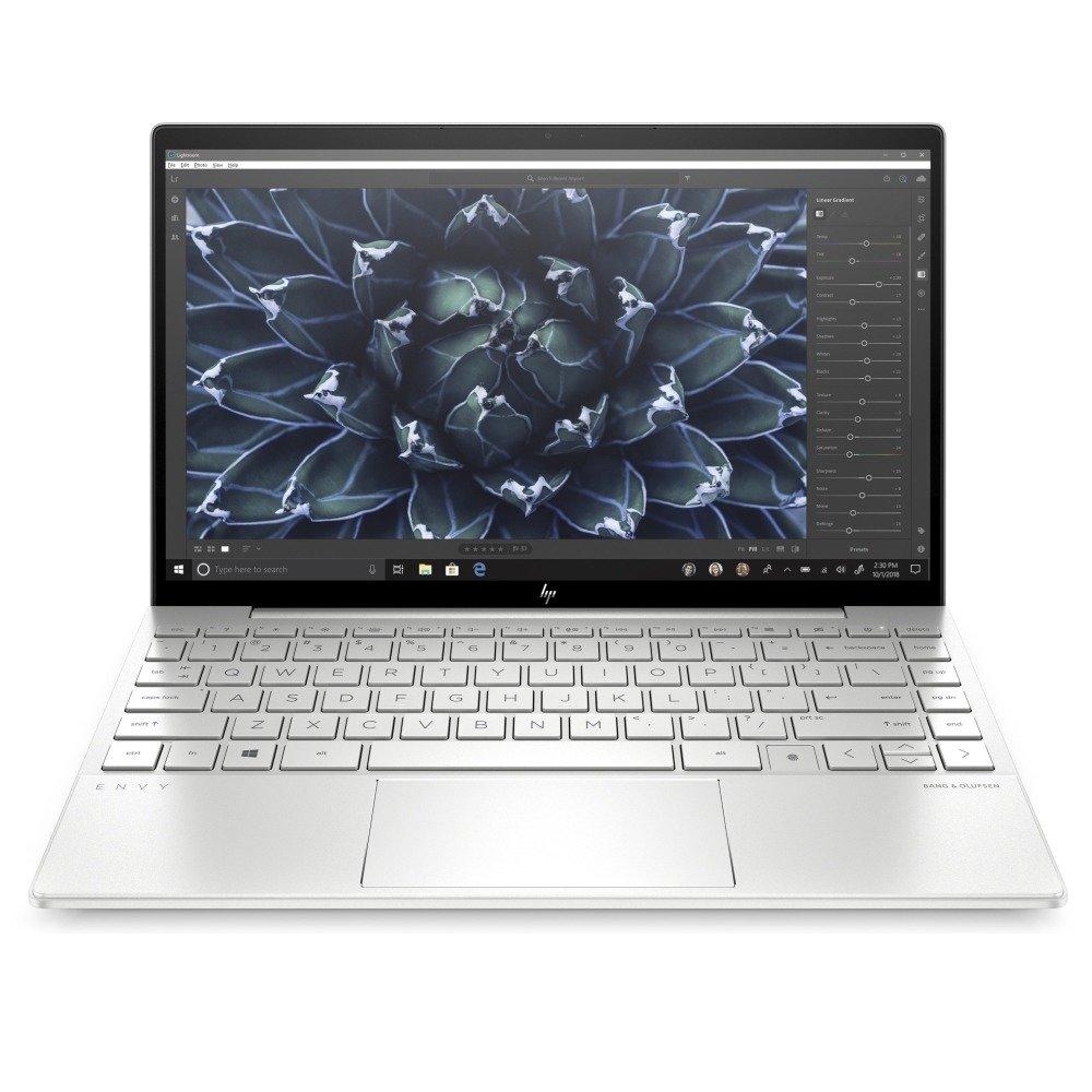 """Лаптоп HP Envy 13-ba1001nu (386F6EA_1C1Y5AA)(сив) с подарък USB хъб HP, четириядрен Tiger Lake Intel Core i7-1165G7 2.8/4.7 GHz, 13.3"""" (33.78 cm) Full HD IPS Glare Display & GF MX450 2GB, (HDMI), 16GB DDR4, 1TB SSD, 1x USB Type-C, Windows 10 Home  image"""