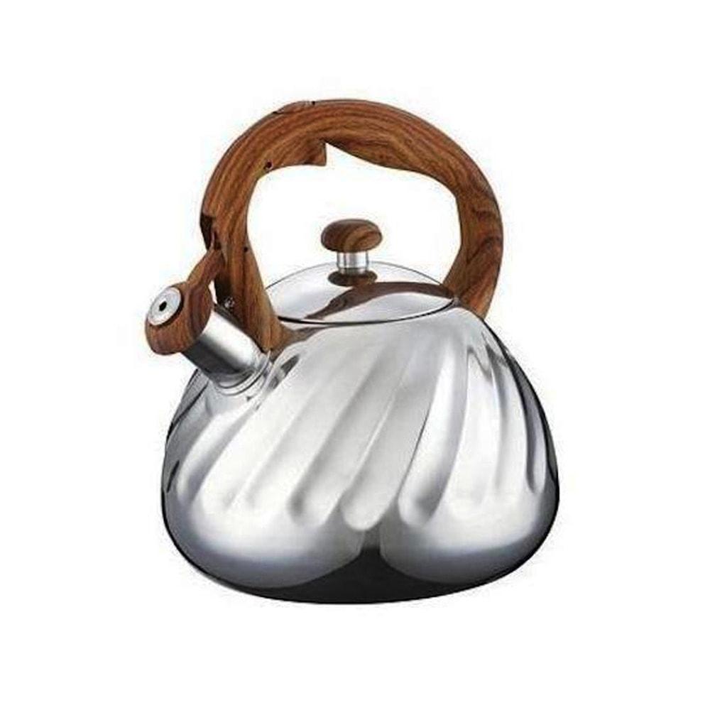 Чайник Peterhof PH 15654, 3 литра, стомана, подходящ за индукционни котлони, инокс image