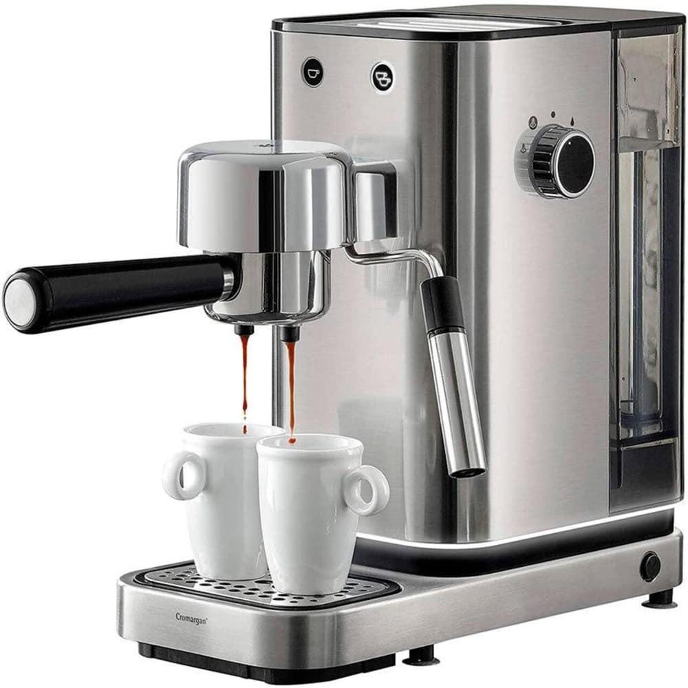 Кафемашина WMF LUMERO ESPRESSO, 1400W, 15 bar, Cromargan корпус, инокс image