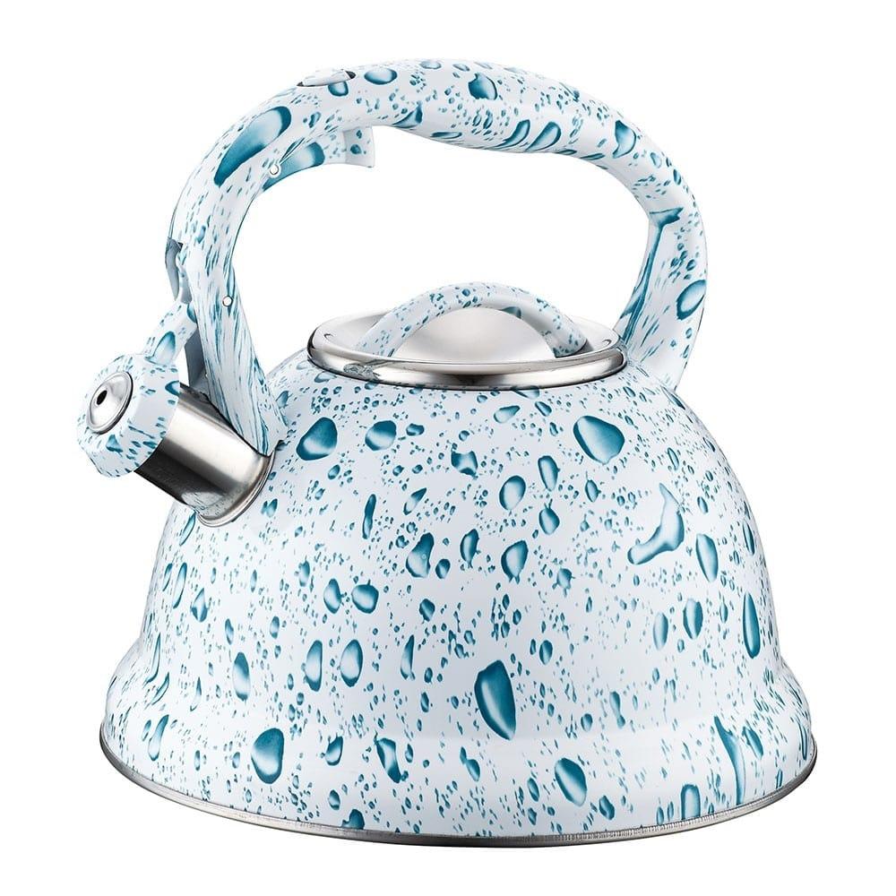 Чайник Peterhof PH 15643, 3 литра, стомана, подходящ за индукционни котлони, бял image