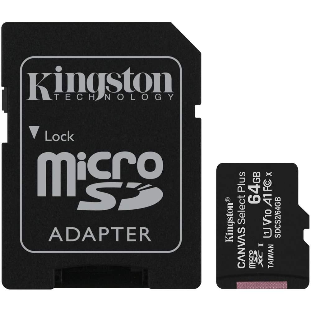 Карта памет 64GB MicroSDXC с адаптер