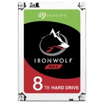 "Твърд диск 8TB Seagate IronWolf NAS, SATA 6Gb/s, 7200 rpm, 3.5""(8.89 cm) image"
