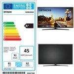 "Телевизор Hitachi 32HE2000 SMART, 32"" (81.28 cm) HD, DVB-T/T2/C/MPEG4, Wi-Fi, 2x HDMI, 1x USB image"