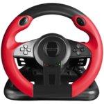 Волан с педали Speedlink Trailblazer, вибриращ, USB, за PS4/Xbox One/PS3/PC, червен/черен image
