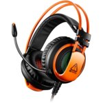 Слушалки Canyon CND-SGHS5, микрофон, 20Hz-20kHz честотен диапазон, оранжеви image