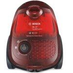 Прахосмукачка Bosch BGL2UA2008, с торба/контейнер, 600 W, 3.5 л. капацитет на торбата / 0.7 л. капацитет на контейнера, енергиен клас A, DualFiltration, синя image