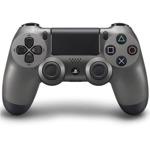 Геймпад Sony DualShock 4 Steel Black, безжичен, за PS4, черен image
