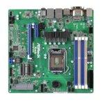 Дънна платка за сървър ASRock Rack H97M WS, LGA1150, поддържа DDR3 non-ECC UDIMM, 2x LAN1000, 6x SATA3 6.0Gb/s(RAID 0/1/5/10), 1x M.2 slot, 2x USB 3.0, mATX image