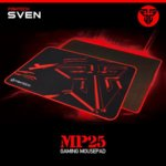 Подложка за мишка FanTech MP25, гейминг, черна, 250 x 210 x 2mm image