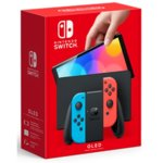 Nintendo Switch OLED Neon Red and Blue