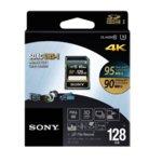 128GB SD, Sony Ultra High Speed SFG1UZ, Class 10 UHS-1, скорост на четене 95 MB/s, скорост на запис 90MB/s image