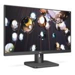 """Монитор AOC 24E1Q, 23.8""""(60.45 cm), IPS LED панел, FullHD, 4ms, 200000000 :1, 250 cd/m2, HDMI, DisplayPort, VGA, сив image"""
