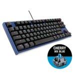 Клавиатура Ducky One 2 Midnight TKL, Cherry MX Blue, механична, RGB подсветка, USB, черна image