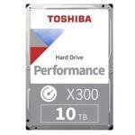 "10TB Toshiba X300, SATA 6Gb/s 7200 rpm, 256MB, 3.5"" (8.89cm) image"
