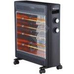Конвектор Rohnson R-8013, 2 степени на мощност, регулируем термостат, 2200W, черен image