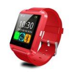 Часовник SW SmartWatch U8, тъчскрийн, Bluetooth, хендсфрии функция, червен image