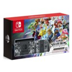 Конзола Nintendo Switch 32GB + Super Smash Bros. Ultimate Edition, сива image
