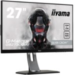 "Монитор Iiyama Prolite GB2730QSU-B1, 27""(68.58 cm) TN панел, WQHD, 1ms, 80 000000 : 1, 350 cd/m2, HDMI, DisplayPort, DVI image"