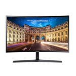 """Монитор Samsung C24F396FHUX (LC24F396FHUXEN), 23.5"""" (59.69 cm) VA LED, Full HD Curved, 4ms, Mega, 250 cd/m2, HDMI image"""