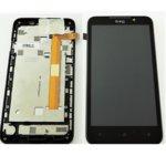 Дисплей за HTC Desire 516, LCD Original, с тъч и рамка, черен image