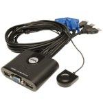 KVM Switch Aten CS22U, от 2x USB A(ж), 1x HDB-15(ж) към 4x USB A(м), 2x HDB-15(м), 1 устройство image
