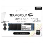 SSD 128GB TeamGroup MP32, PCI-e 3.0 x2 NVMe, M.2 (2280), скорост на четене 1500MB/s, скорост на запис 850MB/s image