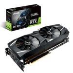 Видео карта Nvidia GeForce RTX 2080, 8GB, Asus Dual RTX OC, PCI-E 3.0, GDDR6, 256 bit, 3x Display Port, 1x HDMI, 1x USB Type C image