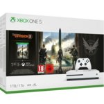 Конзола Xbox One S + Tom Clancy's The Division 2 Bundle, 1TB, бял image
