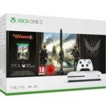 Конзола Xbox One S + Tom Clancy's The Division 2 Bundle, 1TB, бял image
