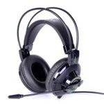 Слушалки G925 mic GAME 2x3.5mm Black/Green, микрофон, 32 Ohm, черни image