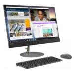 "All in One компютър Lenovo IdeaCentre AIO 730s (F0DX003URI)(сив), четириядрен Kaby Lake R Intel Core i7-8550U 1.8/4.0 GHz, 23.8""(60.45cm) Full HD Anti-Glare Display&Radeon 530 2GB, (HDMI), 8GB DDR4, 256GB SSD, USB Type-C, мишка и клавиатура, Free DOS image"