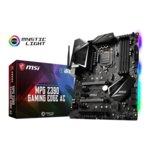 Дънна платка MSI MPG Z390 GAMING EDGE AC, Z390, LGA1151, DDR4, PCI-Е (DP&HDMI)(CF/SLi), 6x SATA 6Gb/s, 2x M.2 slot, 1x USB 3.1 (Gen 2, Type-C), ATX, RGB подсветка image