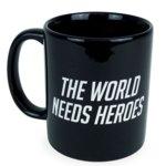 Чаша Gaya Overwatch The World Needs Heroes, черна image