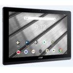 "Таблет Acer Iconia B3-A50-K1P5(NT.LF9EE.005), 10.1"" (25.65 cm) HD IPS дисплей, четириядрен MTK MT8167 Cortex A35 1.30GHz, 2GB RAM, 32GB ROM (+ microSD слот), 5Mpix & 2Mpix camera, Android 8.1 Oreo, 550g, Black&Iron image"